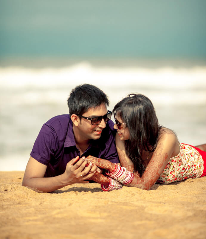 Best wedding photographer in Goa: Meghaa+Nikhil couple ...