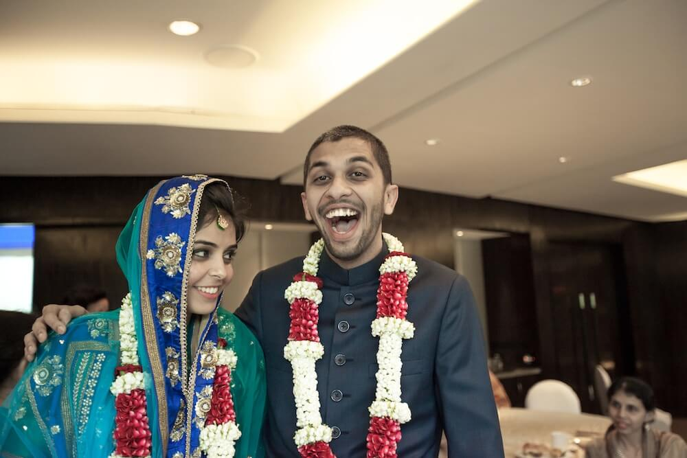 mumbai nikah couple photo