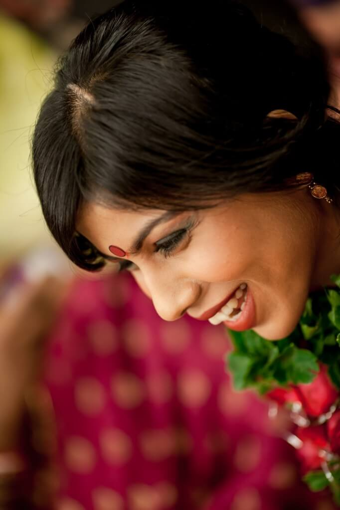 candid wedding photography beautiful smile bride shaadigrapher