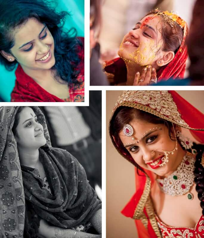 candid wedding photography indian bride