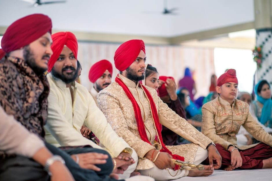 gurudwara wedding photographs