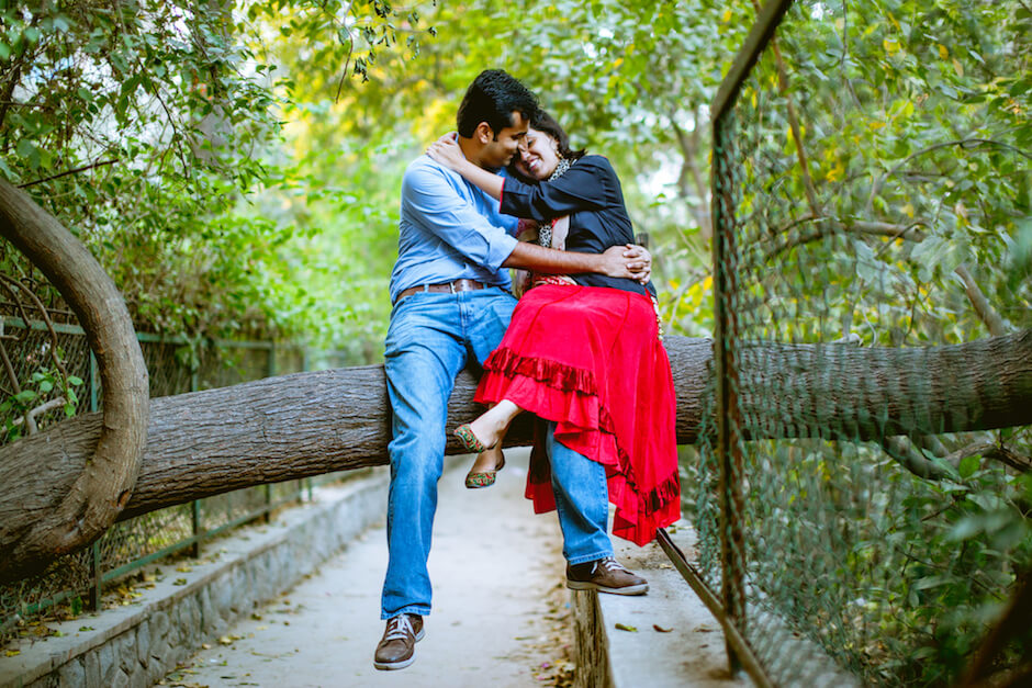 pre wedding shoot hauz khas