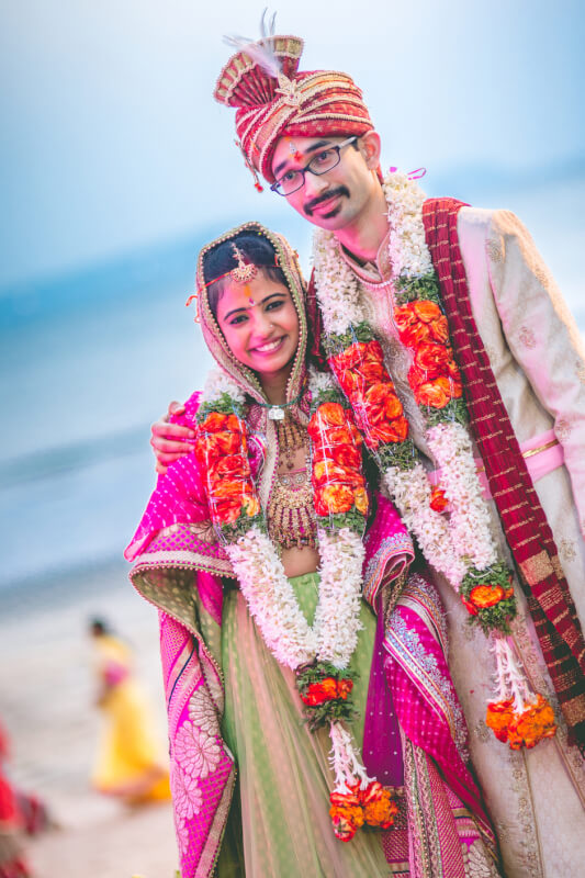 beach wedding photographers india